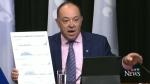 Quebec Health Minister Christian Dube
