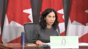 Dr. Tam speaking