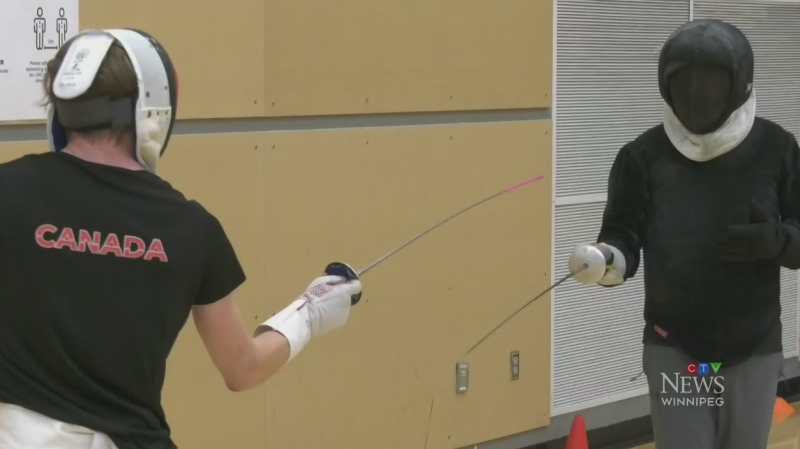 SportStar: Building Manitoba's fencing program