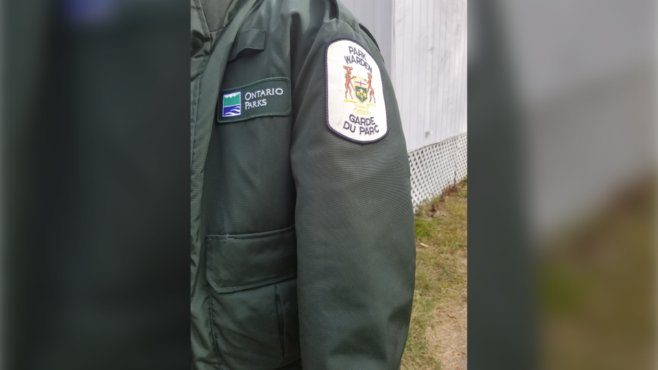 Ontario Parks' Park Warden jacket