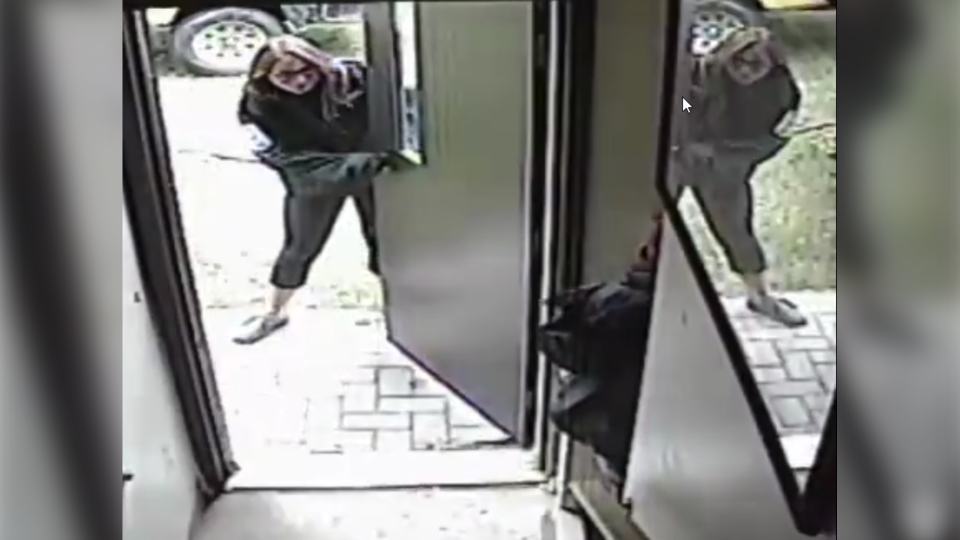 Female suspect in break-in at Windy Lake Park