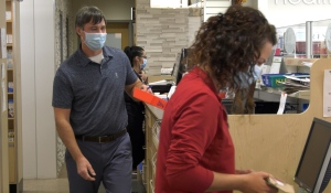It's going to be a busy fall for health professionals, if demand for flu shots right now is any indication. A new Pharmasave survey of its customers suggests the drug store chain is looking at an eight per cent increase in the number of people looking to get vaccinated. (Ian Campbell/CTV News)