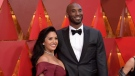 In this March 4, 2018, file photo, Vanessa Laine Bryant, left, and Kobe Bryant arrive at the Oscars at the Dolby Theatre in Los Angeles. (Richard Shotwell/Invision/AP, File)