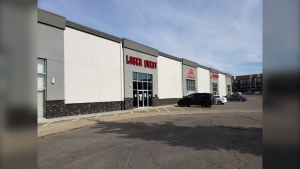 The Facebook page for the Regina Laser Quest location indicates it is permanently closed. (Mick Favel / CTV News Regina)