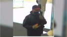 Robbery suspect surveillance image. (courtesy Windsor police)