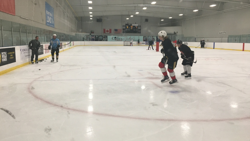 London area OHL players practice at Western Fair District Sep 22, 2020
