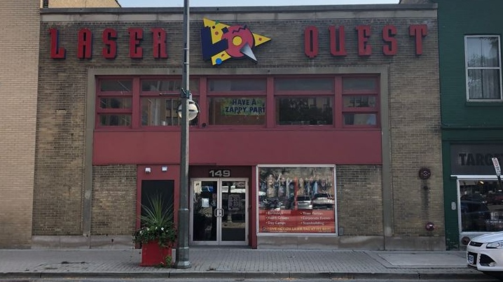 Laser Quest in London Ont.