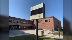 College Louis Riel (CTV News Photo Scott Andersson)