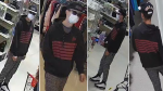 Ottawa police are searching for a man they say tried to rob a store in Bells Corners wielding a knife.