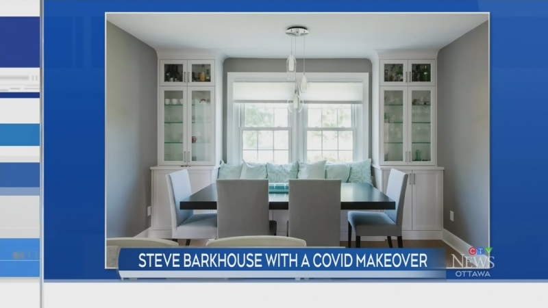 COVID makeover with Steve Barkhouse
