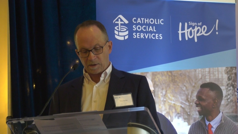 Catholic Social Services has put out a call for help as the demand for their services is increasing. Tuesday Sept. 22, 2020 (CTV News Edmonton)