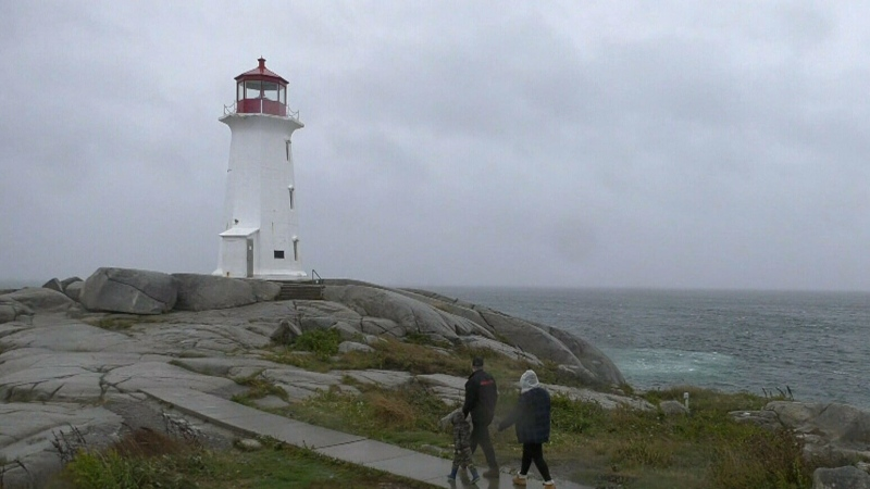 Route to Peggy's Cove closed