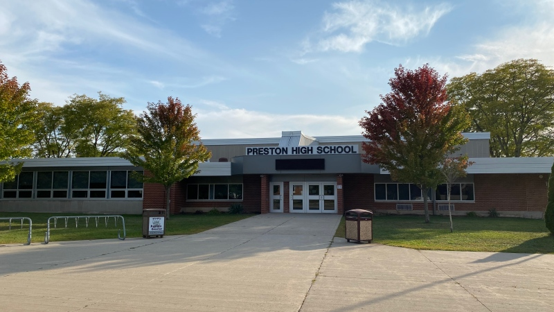 Preston High School (Terry Kelly / CTV News Kitchener)