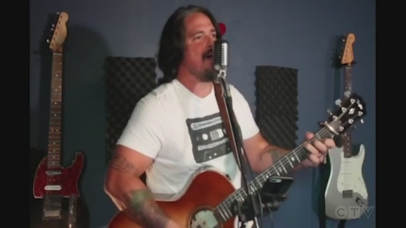 Sudbury music teacher and Tragically Hip lover Scott Mitchell sings, 'Wheat Kings.'
