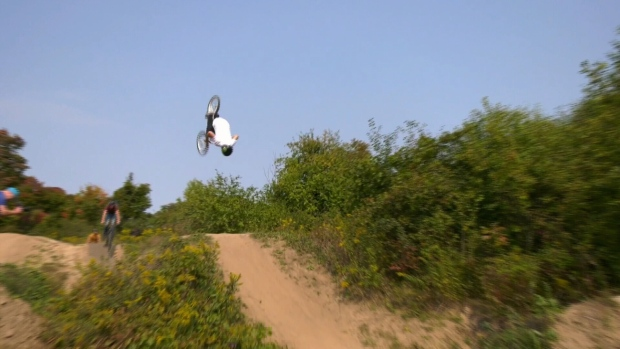 Riders rally to save large homemade Oshawa Ont. bike park shuttered by city