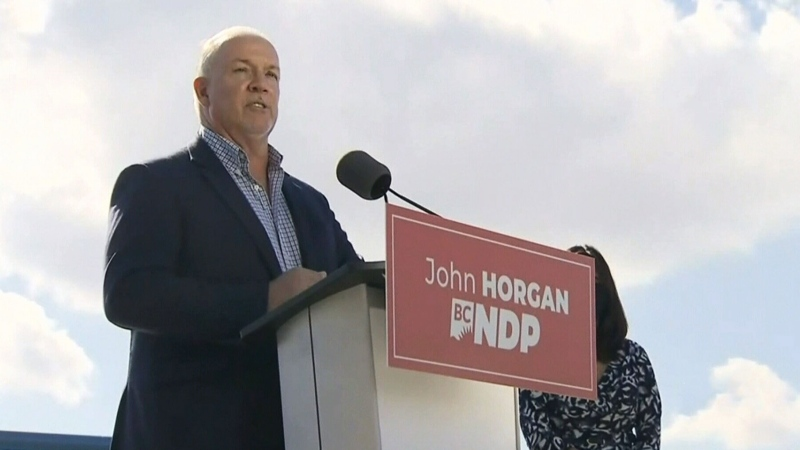 B.C. leaders begin campaigning