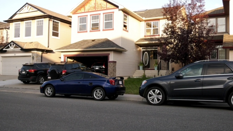 A young boy was seriously injured after falling from a second storey window in northwest Calgary.