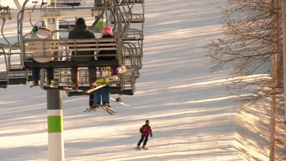 Ski hills covid