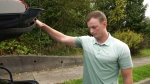 Pro golfer's equipment stolen