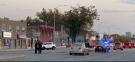 Serious crash closes Main Street