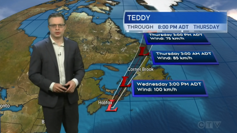 CTV Atlantic chief meteorologist Kalin Mitchell shares the Maritime weather forecast for September 23, 2020.