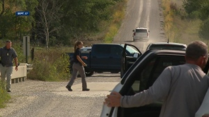 The body of Michael Williams was found in a ditch near Kellogg, Iowa. (Credit: KCCI via CNN)