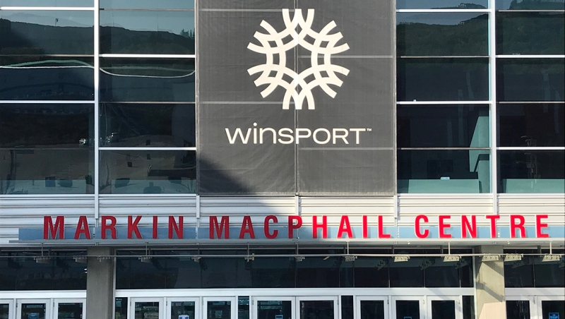 The Markin MacPhail Centre at WinSport's Canada Olympic Park in Calgary. (file)