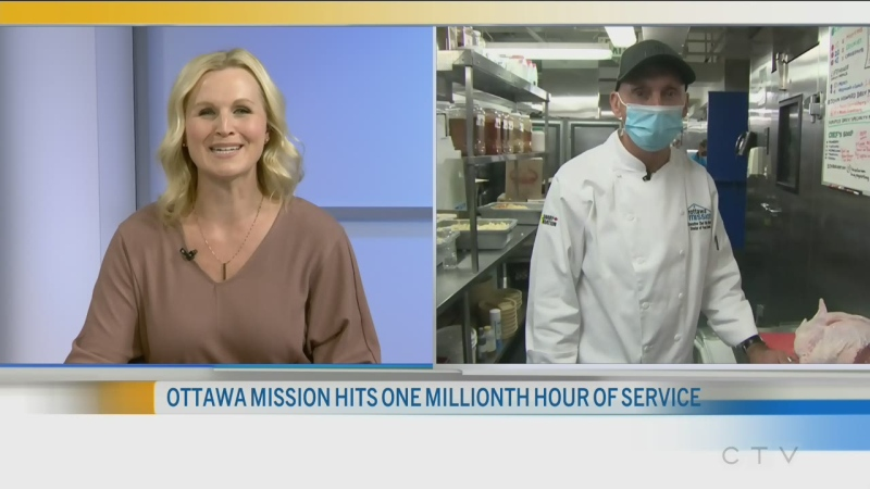 Ottawa Mission Hits 1 Million Hours
