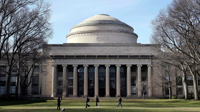 The 'Great Dome' on the Massachusetts Institute of Technology campus in Cambridge, Mass., on April 3, 2017. (Charles Krupa / AP)
