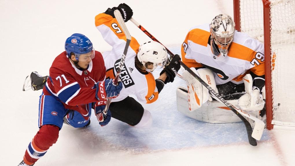 Montreal Canadiens centre Jake Evans