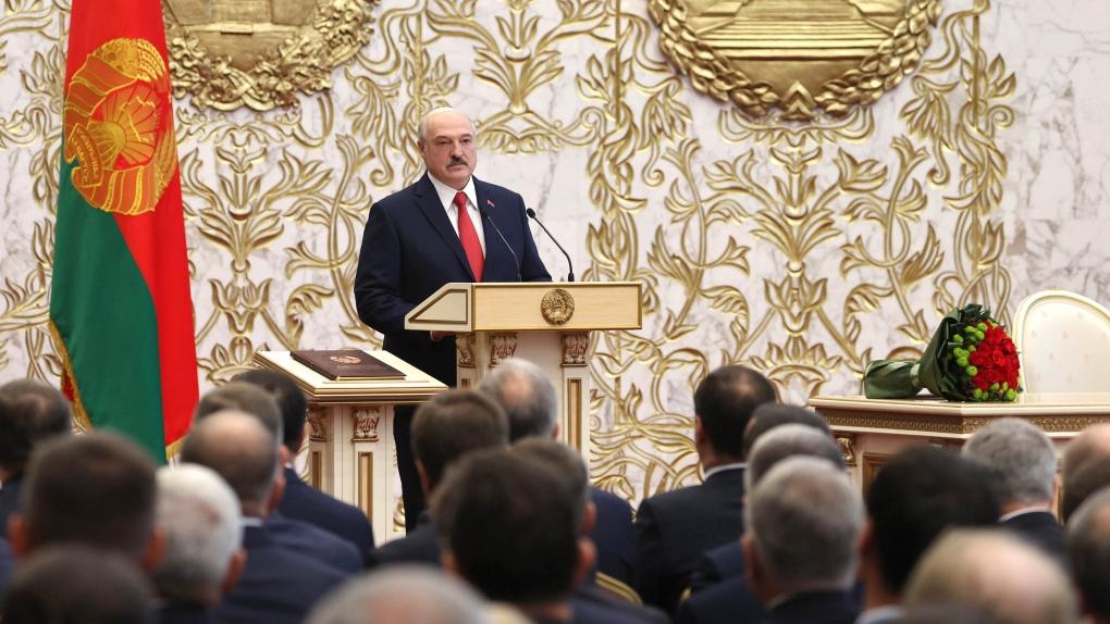 Alexander Lukashenko inauguration