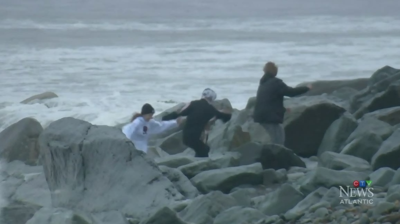 Team coverage: Teddy makes landfall in Nova Scotia