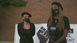 Sudbury Black Lives Matter members presented three