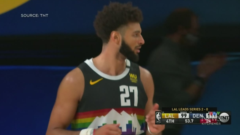 Murray leads Nuggets to win over Lakers