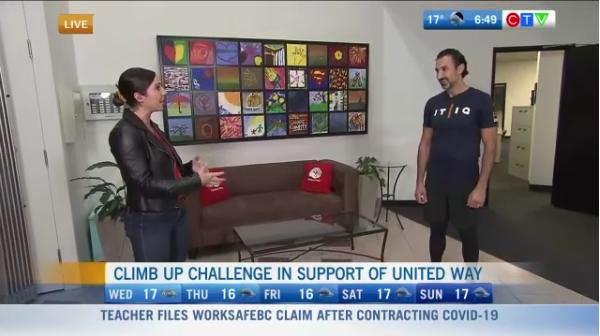 Climb Up challenge, united Way