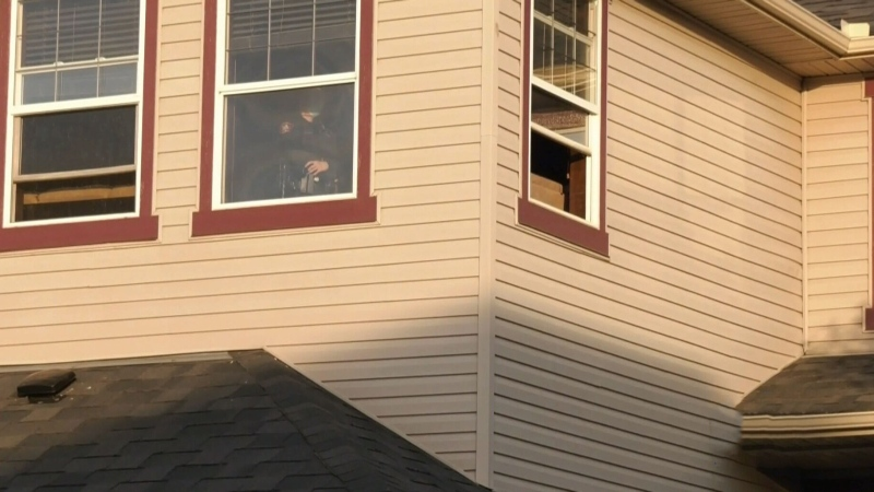 Child injured in fall from window
