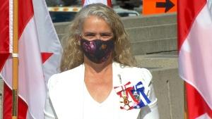 Gov. Gen. Julie Payette is seen before the throne speech in Ottawa, Wednesday, Sept. 23, 2020.