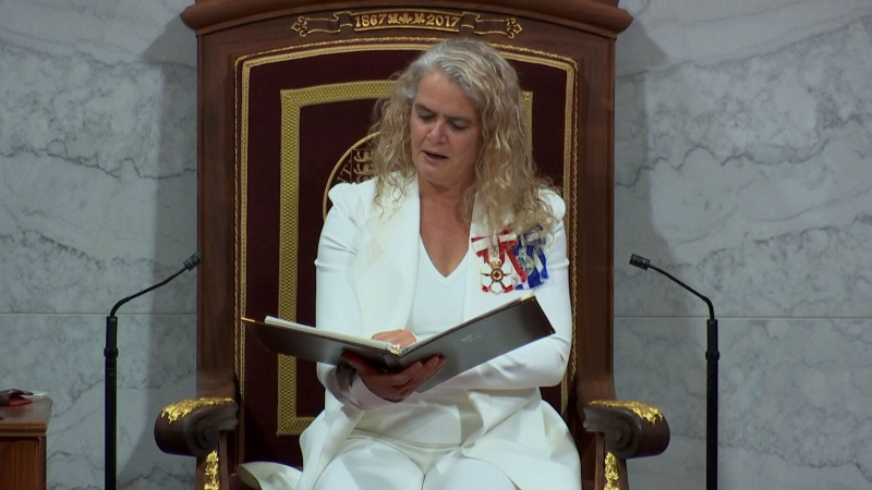 Throne Speech from Ottawa