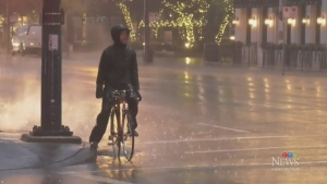 First fall storm dumps rain on Vancouver