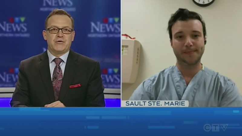 Tony Ryma talks to Sault Area Hospital's Dr. Lucas Castellani, an infectious disease specialist, about the spike in COVID-19 cases.