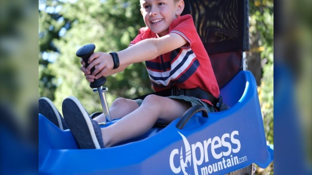 Cypress Mountain Coaster