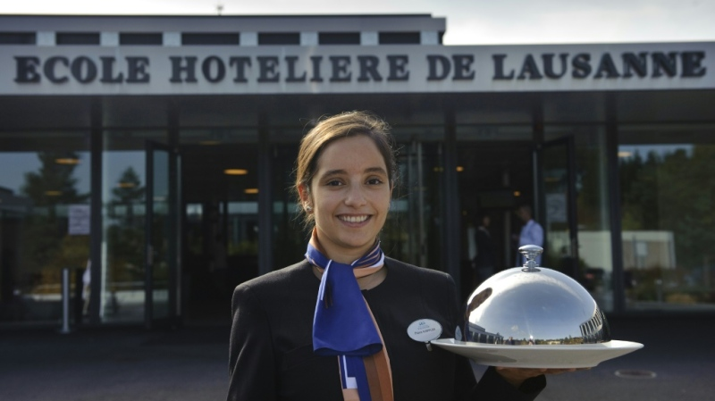 L'Ecole Hoteliere de Lausanne (EHL) is consistently ranked as one of the world's best hospitality schools. (AFP)
