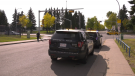 According to Edmonton Police Service, a woman pushing a stroller sustained minor injuries on Sept. 23, 2020, when she was hit at 165 Street and 95 Avenue.