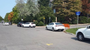 Ottawa Bylaw and Regulatory Services is reminding people to park legally at the COVID-19 Assessment Centre at Brewer Arena. (Photo courtesy: City of Ottawa)