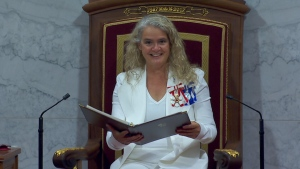 Watch Payette deliver throne speech in Ottawa