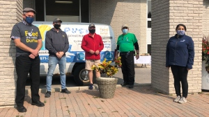 Feed the Need participants in Durham Region are seen in this photograph.
