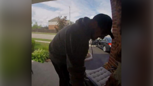Police are investigating parcel thefts in Waterloo Region (Supplied: Waterloo regional police)