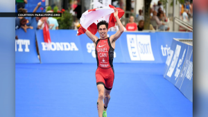 In 2016, Calgary para triathlete Stefan Daniel became the first Canadian triathelete to ever win a Paralympic Games medal