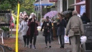 Cook Street Village is pictured: Sept. 23, 2020 (CTV News)