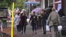 Cook Street Village is pictured: Sept. 23, 2020 (CTV News)